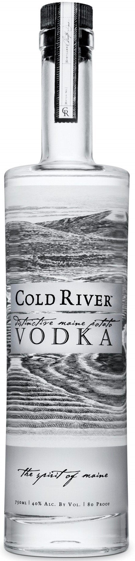 Cold River Vodka 750ml