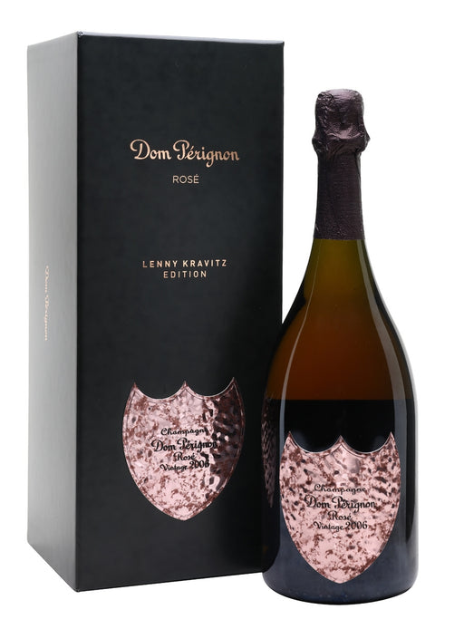 Dom Perignon Brut Champagne Rose 2006 with Gift Box - Lenny Kravitz Limited Edition