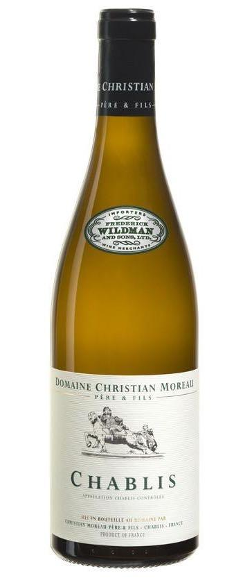 Domaine Christian Moreau Chablis 2017 - PRESELL