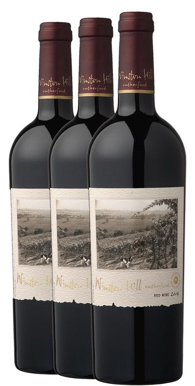 Frank Family Winston Hill Cabernet Sauvignon 2006-2007-2008 Library Vertical 3-Pack