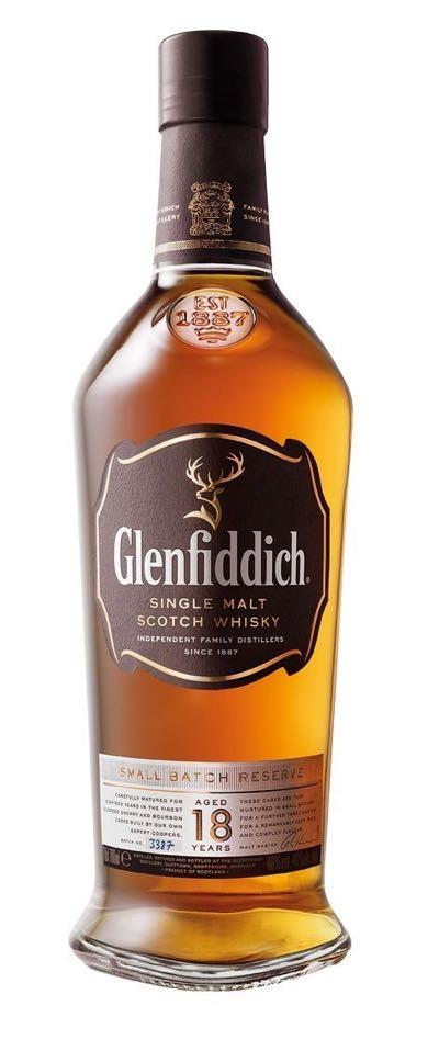 Glenfiddich 18 Year Old Single Malt Scotch Whisky 750ml
