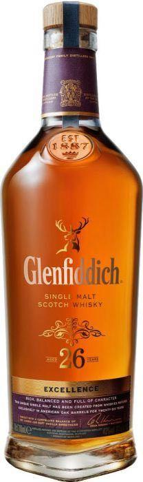 Glenfiddich 26 Year Old Single Malt Scotch Whisky 750ml