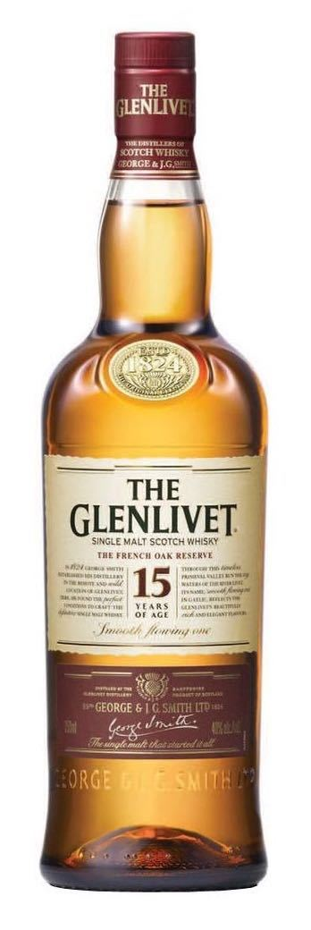 Glenlivet 15 Single Malt Whisky 750ml