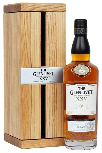 Glenlivet XXV Single Malt Whisky 750ml - Gift Box