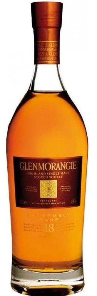 Glenmorangie 18 Year Old Single Malt Whisky 750ml