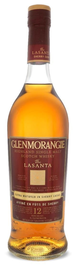 Glenmorangie Lasanta 12 Year Single Malt Scotch Whisky 750ml