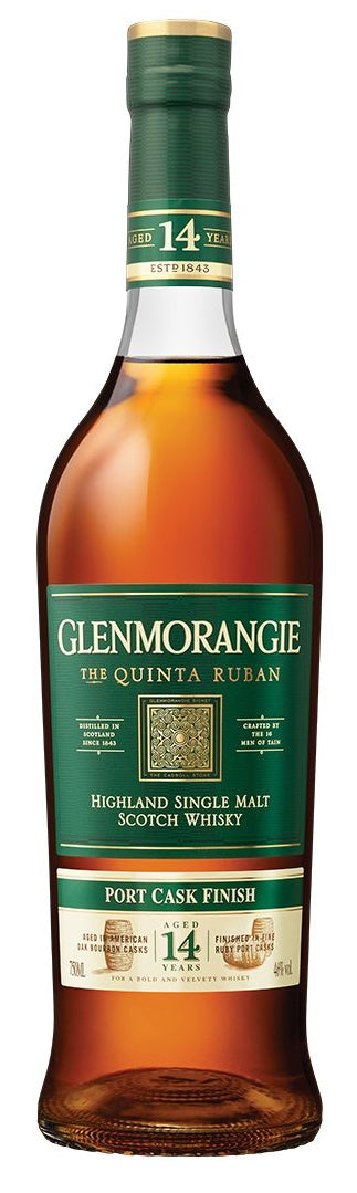 Glenmorangie Quinta Ruban 14 Year Single Malt Scotch Whisky 750ml