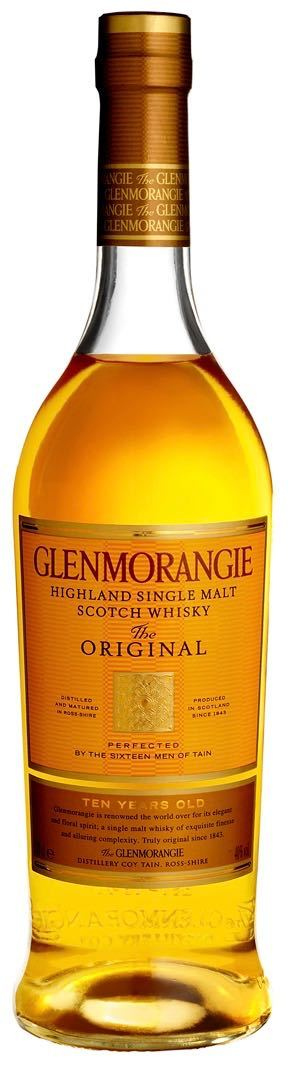 Glenmorangie The Original 10 Year Old Single Malt Whisky 750ml
