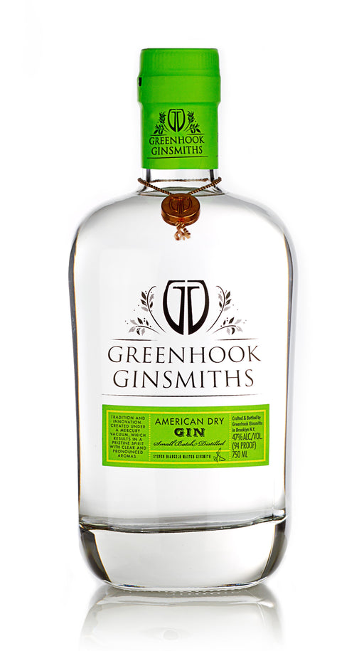 Greenhook Ginsmith Dry Gin 750ml