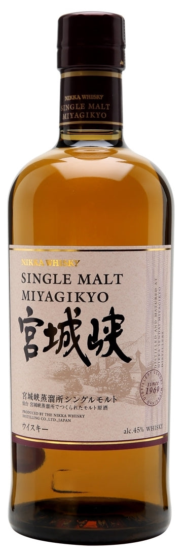 Nikka Single Malt Miyagikyo Whisky 750ml
