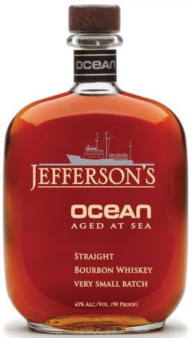 Jefferson's Ocean Aged Bourbon Whiskey 750ml