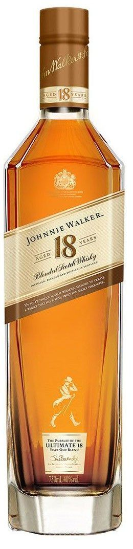 Johnnie Walker 18 Year Blended Scotch Whisky 750ml