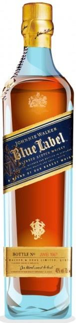 Johnnie Walker Blue Label Blended Scotch Whisky 200ml in Gift Box