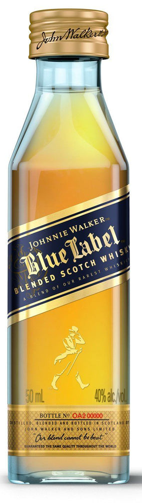 Johnnie Walker Blue Label Blended Scotch Whisky 50ml in Gift Box