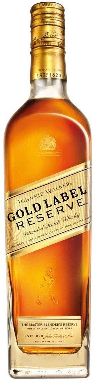 Johnnie Walker Gold Label Blended Scotch Whisky 750ml