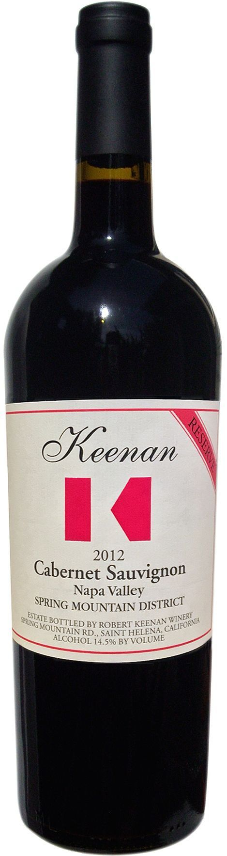 Keenan Reserve Spring Mountain District Cabernet Sauvignon 2013