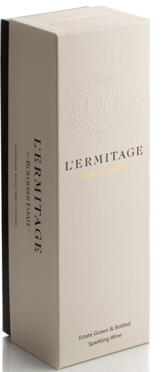 L'Ermitage Brut Rose 2009 with Gift Box