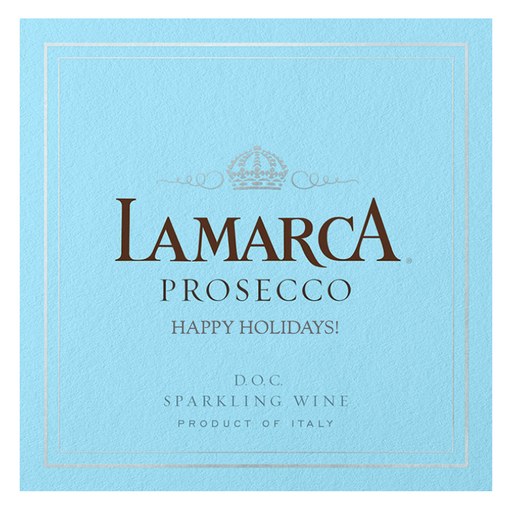 La Marca Prosecco with  Custom Label