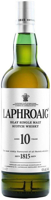 Laphroaig 10 Year Islay Single Malt Whisky 750ml