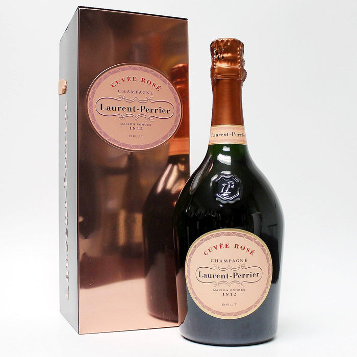 Laurent-Perrier Brut Champagne Cuvee Rose - Mirror Gift Box