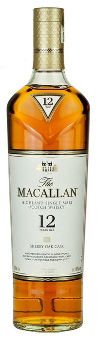 Macallan Sherry Oak 12 Year Old Highland Single Malt Whisky 750ml