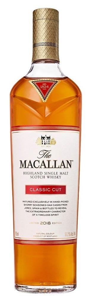 Macallan Classic Cut Single Malt Scotch Whisky 750ml - 2018 Edition