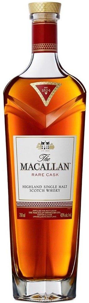 Macallan Rare Cask Highland Single Malt Whisky 750ml - Gift Box