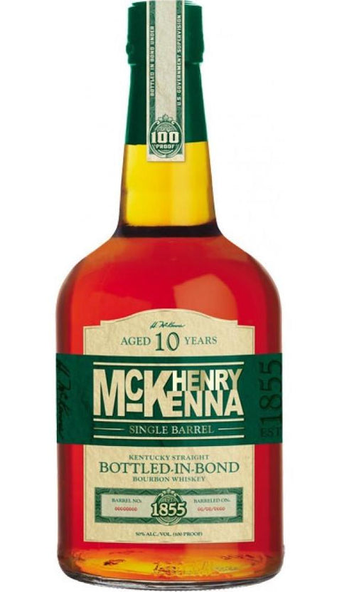 McKenna 10 Year Old Single Barrel Bourbon Whiskey