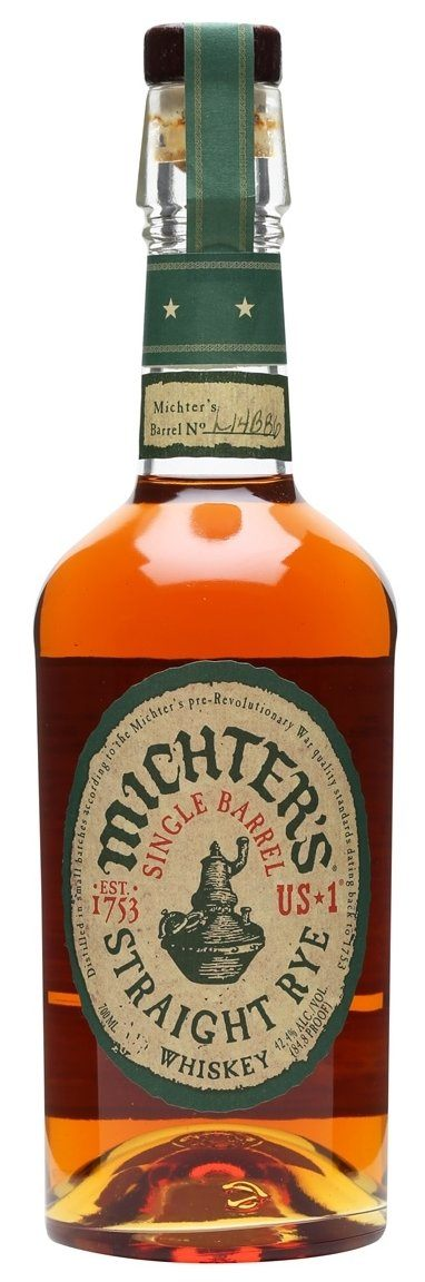 Michter's US 1 Single Barrel Straight Rye Whiskey