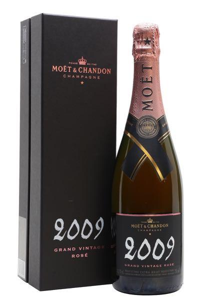 Moet & Chandon Grand Extra Brut Champagne Rose 2009 - Gift Box