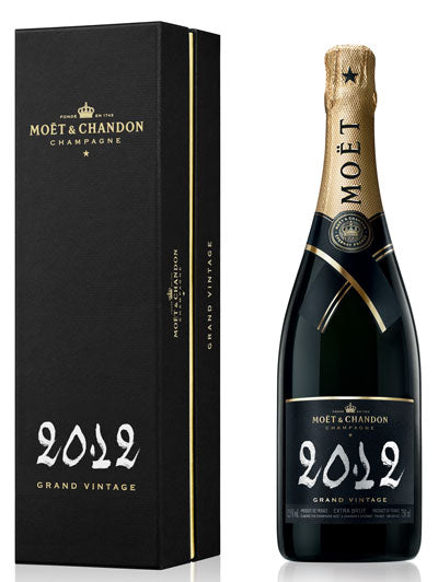 Moet & Chandon Grand Vintage Champagne 2012 with Gift Box