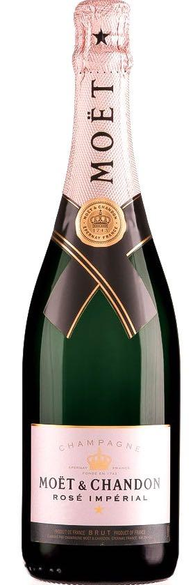Moet & Chandon Imperial Brut Champagne Rose 3,000ml - Jeroboam