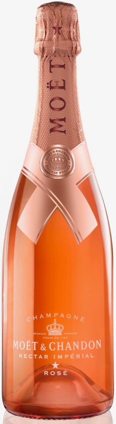 Moet & Chandon Nectar Imperial Rose Champagne - Jonathan Mannion Limited Edition