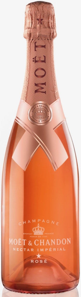Moet & Chandon Nectar Imperial Rose Champagne - LUMINOUS