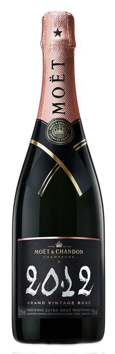 Moet & Chandon Grand Extra Brut Champagne Rose 2012