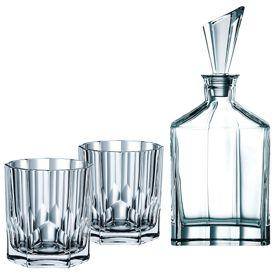 Nachtmann by Riedel Whisky Decanter + 2 Tumblers