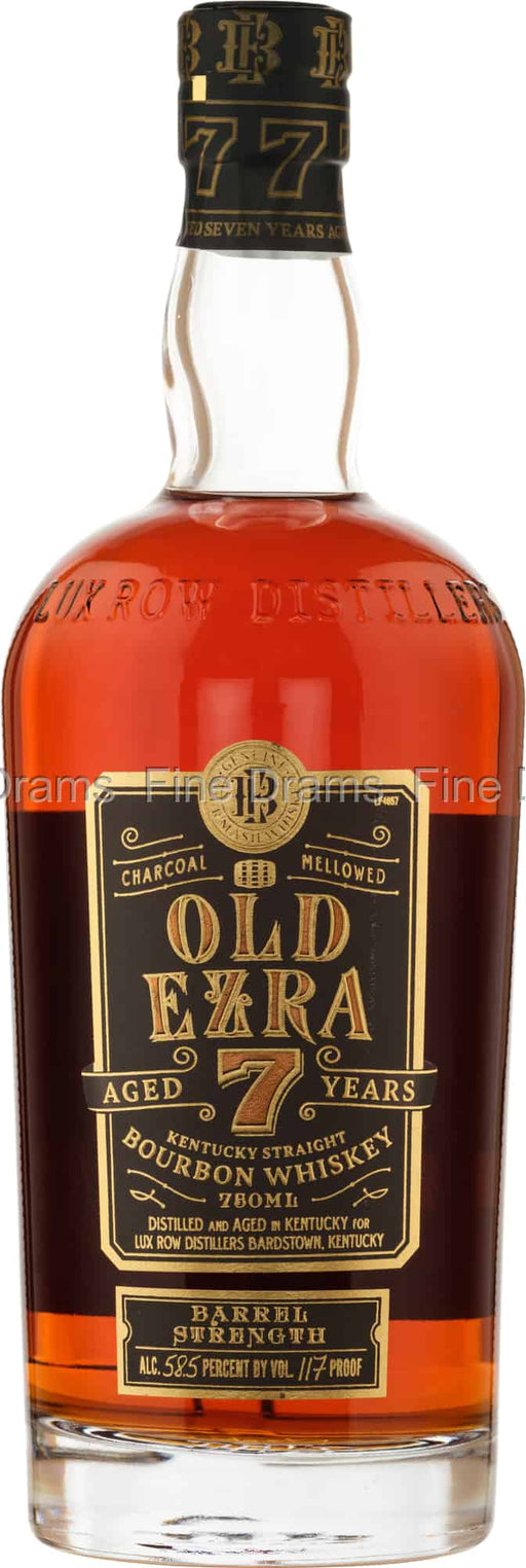 Ezra Brooks Old Ezra 7 Year Old Barrel Strength Kentucky Bourbon Whiskey
