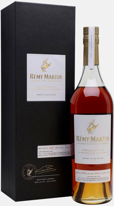Remy Martin Carte Blanche A Baptiste Loiseau Cognac 750ml with Gift Box