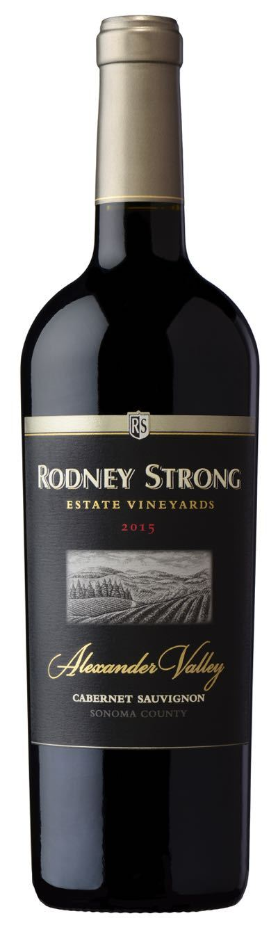 Rodney Strong Estate Alexander Valley Cabernet Sauvignon 2015