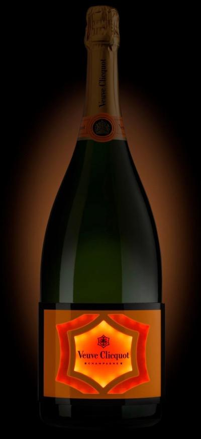Veuve Clicquot Brut Champagne 3,000ml - Jeroboam LUMINOUS