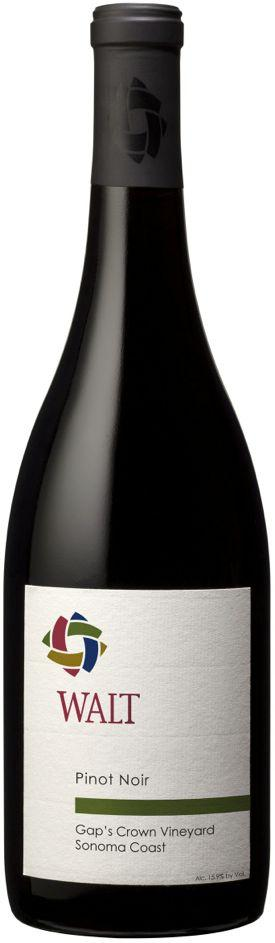 Walt Gap's Crown Single Vineyard Pinot Noir 2012 (Hand Signed)