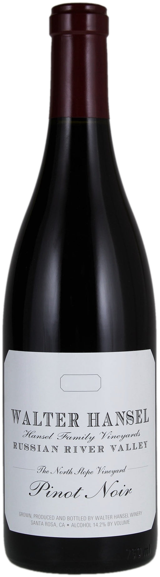 Walter Hansel North Slope Russian River Valley Pinot Noir 2018