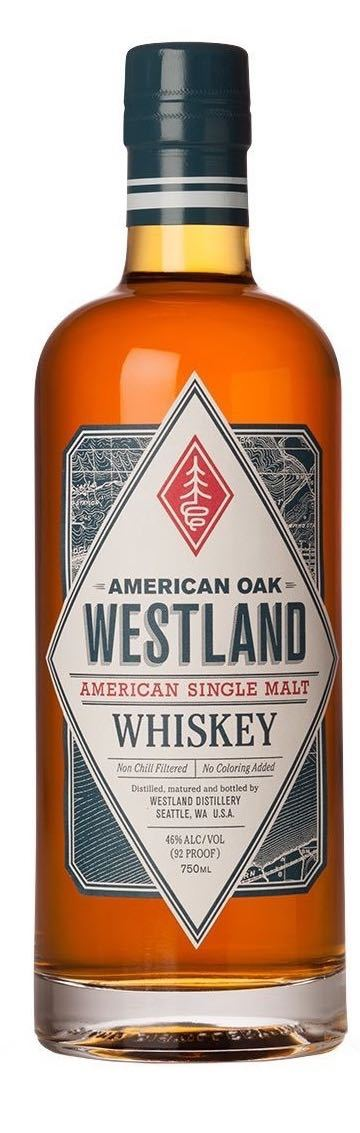 Westland American Oak Single Malt Whiskey 750ml