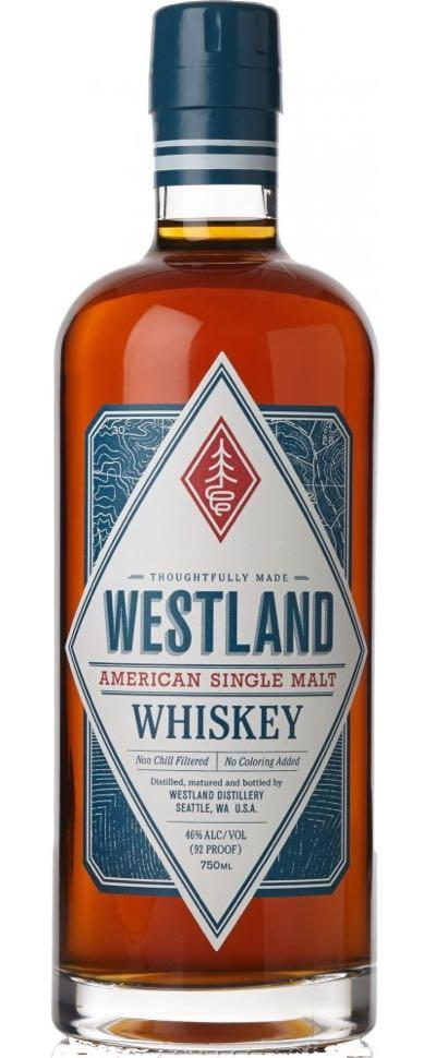 Westland Sherry Wood Single Malt Whiskey 750ml