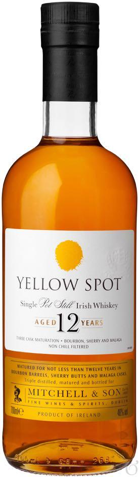 Yellow Spot 12 Year Old Single Pot Still Irish Whisky 750ml