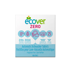 Dishwash Tablets Zero 500g Ecover ( bulk x12 boxes )