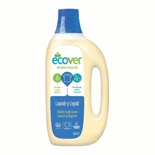 Laundry Liquid 1.5L Ecover (Bulk x6) $22 each