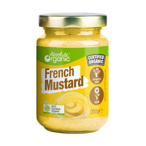 Mustard French 200g (Bulk x6) Absolute Organic ACO. Price $4.19 each