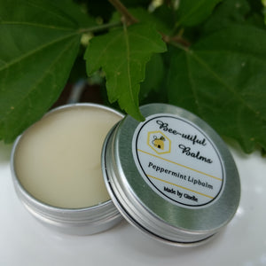 Peppermint Lip Balm by Bee-Utiful