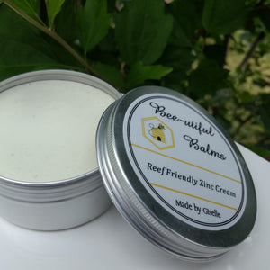150ml Reef Friendly Zinc Cream by Bee-utiful
